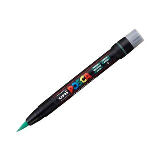 Uni Ball Posca Pen Flexible Brush Tip PCF-350 - Green