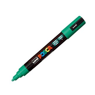 Uni Ball Posca Pen Medium Bullet Tip 2.5mm PC-5M - Green