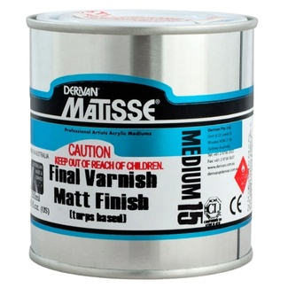 Matisse 250ml - Matte Varnish Turps Based