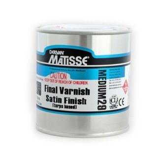 Matisse 250ml - Satin Varnish Turps Based