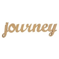 Kaisercraft Wooden Script Word - Journey