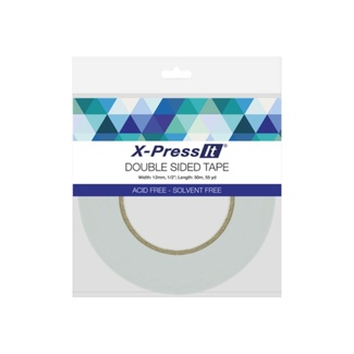 X-Press It Acid Free Double Sided Tape 12mm x 50m