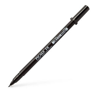 Sakura Pigma Brush Pen Black - Fine