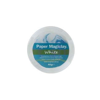 Paper Magiclay 40g - White