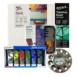 Sip and Paint Acrylic Paint Essential Kit