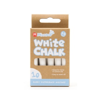 Micador White Chalk 10pc