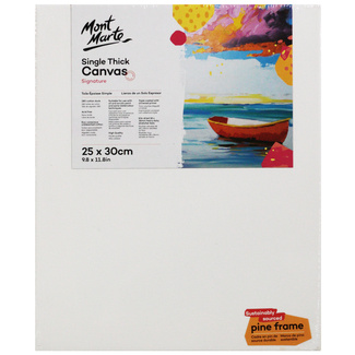 Mont Marte Studio Canvas Single Thick 25 x 30cm