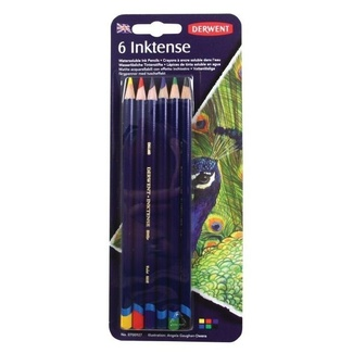 Derwent Inktense Pencil Blister 6pc