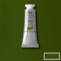 Winsor & Newton Designers' Gouache Colour 14ml S2 - Olive Green