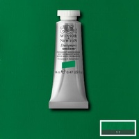 Winsor & Newton Designers' Gouache Colour 14ml S2 - Permanent Green Middle