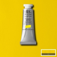 Winsor & Newton Designers' Gouache Colour 14ml S1 - Spectrum Yellow