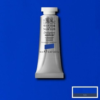 Winsor & Newton Designers' Gouache Colour 14ml S1 - Ultramarine