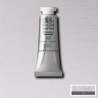 Winsor & Newton Designers' Gouache Colour 14ml S3 - Silver (Imitation)