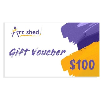 $100 Gift Voucher - Art Shed