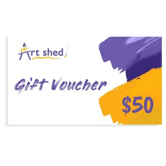 $50 Gift Voucher - Art Shed