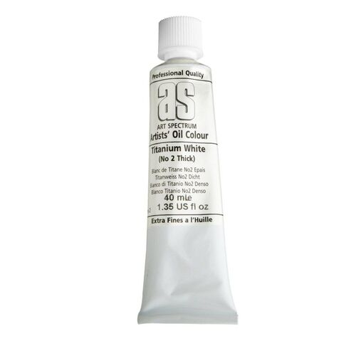 Art Spectrum Oil 40ML Series 2 - Titanium White 2