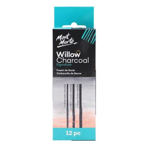 Mont Marte Willow Charcoal Packet of 12