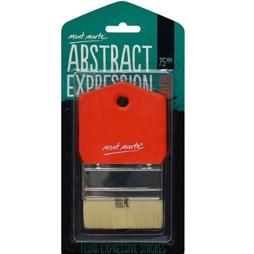 Mont Marte Abstract Expression Brush - 75mm Taklon Brush