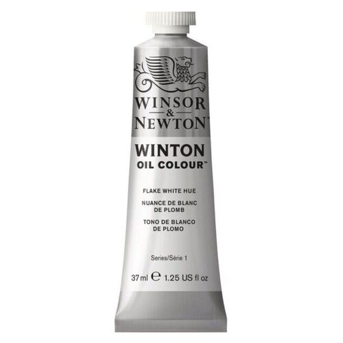 Winsor & Newton Winton Oil Colour 37ml - Flake White Hue
