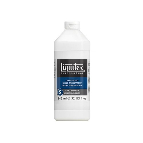 Liquitex 946ml - Clear Gesso Surface Preparation