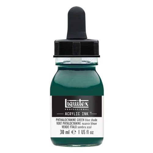 Liquitex Professional Acrylic Ink 30ml - Phthalo Green (Blue Shade) 317
