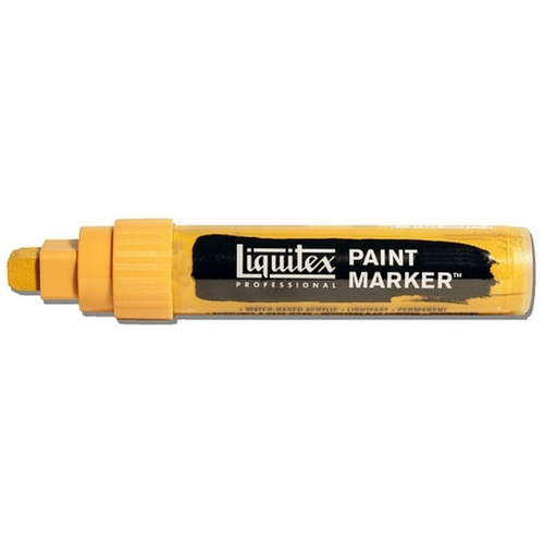 Liquitex Paint Marker Wide 15mm Nib - Yellow Oxide