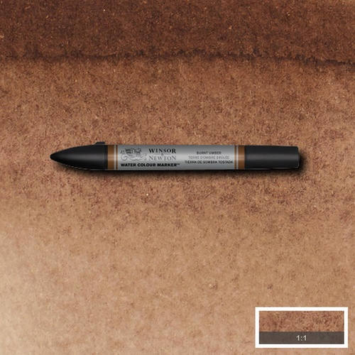 Winsor & Newton Professional Watercolour Marker - S1 Burnt Umber 076