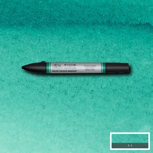 Winsor & Newton Water Colour Marker - S2 Phthalo Green 522