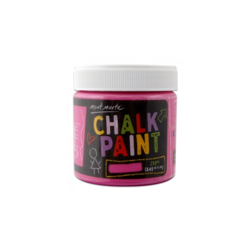 Mont Marte Chalkboard Paint 250ml Pot - Magenta