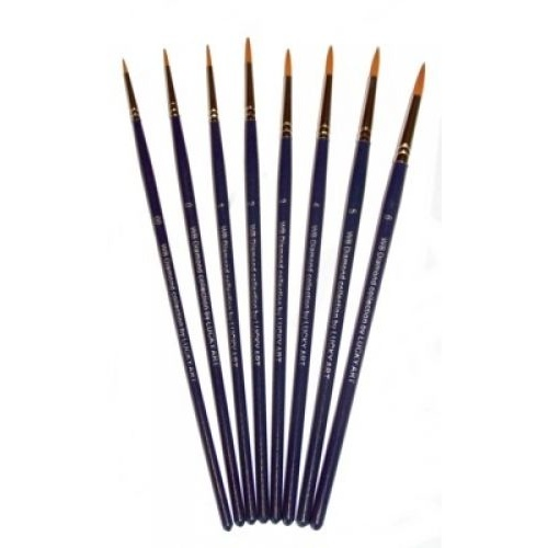 TAG Professional Body Art & Face Paint Brush Round - No. 2