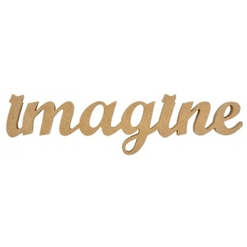 Kaisercraft Wooden Script Word - Imagine